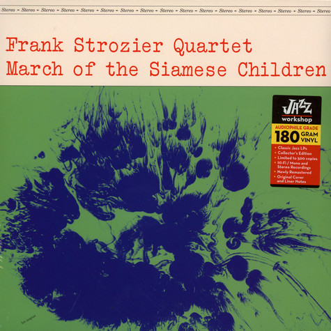Frank Strozier Quartet - The March Of The Siamese Children