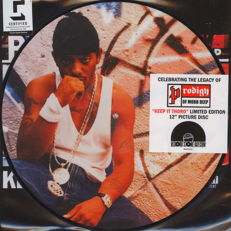 Prodigy of Mobb Deep - Keep It Thoro Picture Disc Edition