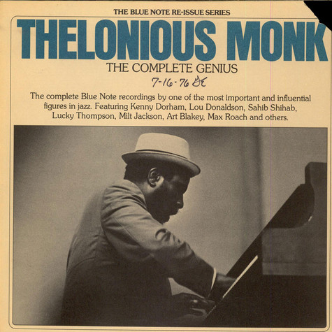 Thelonious Monk - The Complete Genius