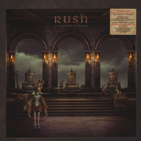 Rush - A Farewell To Kings Deluxe Box