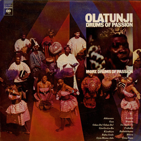 Babatunde Olatunji - Drums Of Passion / More Drums Of Passion