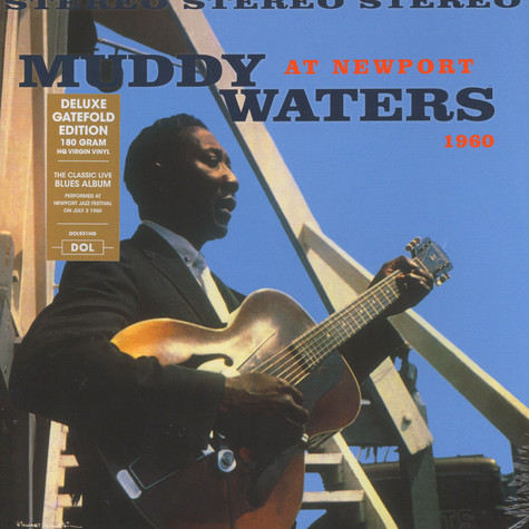 Muddy Waters - Muddy Waters At Newport 1960 Gatefold Sleeve Edition