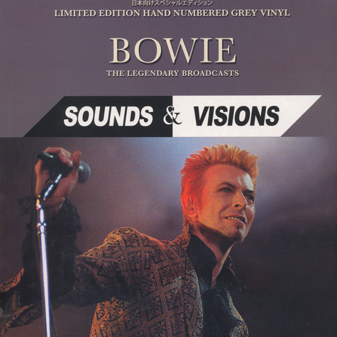 David Bowie Sounds Amp Visions The Legendary Broadcasts