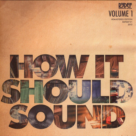 Damu The Fudgemunk - How It Should Sound Volume 1