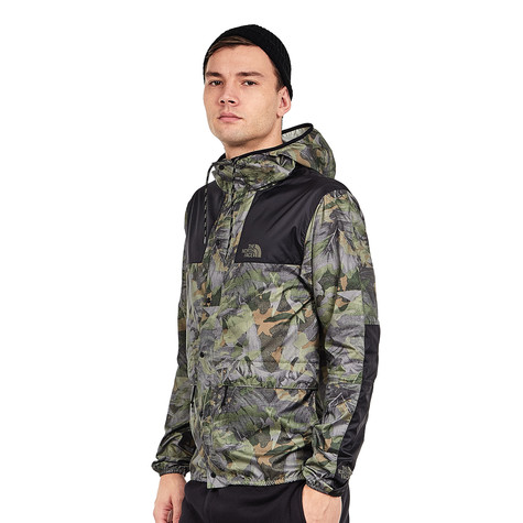 The North Face - 1985 Mountain Jacket (English Green Camo Print)  05683adfb2c7