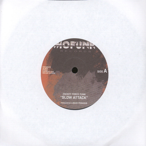 Zackey Force Funk / XL Middleton - Slow Attack / You're So Different