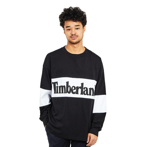 Timberland - LS Oversized Tee Linear Logo