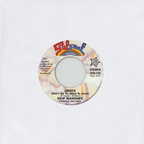 Skip Mahoney - Janice (Don't Be So Blind To Love) / Don't Stop Me Now