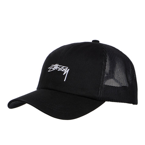 c0aa7fef0e6 Stüssy - Stock Low Pro Trucker Cap (Black)