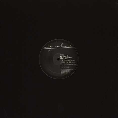 Calibre - Mr Majestic / The Other Side