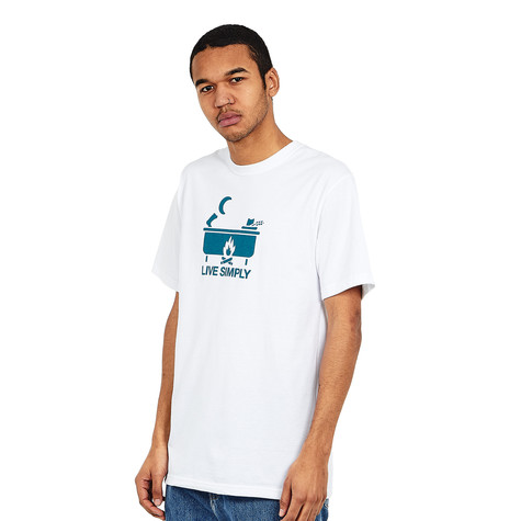 Patagonia - Live Simply Hot Tub Cotton Poly Responsibili-Tee