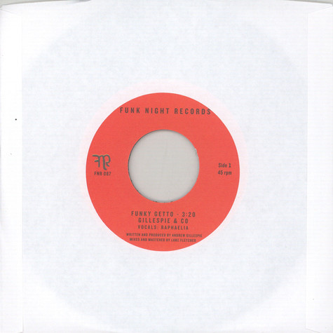 Gillespie & Co. - Funky Getto featuring Raphaelia / Papa's Getto