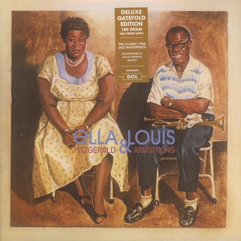 Ella Fitzgerald And Louis Armstrong - Ella And Louis Gatefold Sleeve Edition