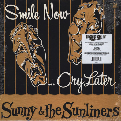 Sunny & The Sunliners - Smile Now, Cry Later