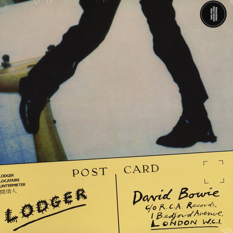 David Bowie - Lodger (2017 Remastered Version)
