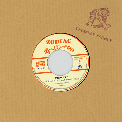 Al Brown & The Seventh Extension Band - Proverb