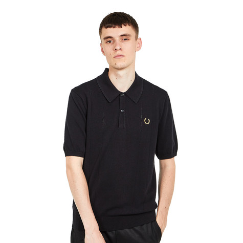 Fred Perry x Miles Kane - Pointelle Knitted Shirt