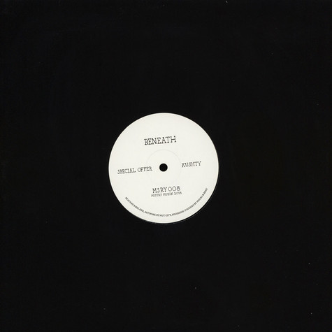 Beneath - Special Offer / Kushty