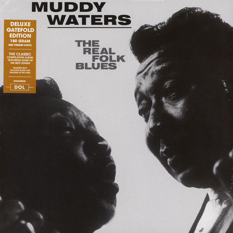 Muddy Waters - The Real Folk Blues Gatefold Sleeve Edition