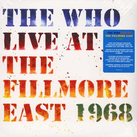 Who, The - Live At The Fillmore East 1968