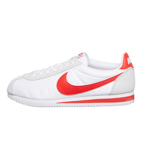 newest 44121 74b6d Nike - Classic Cortez Nylon (White   Habanero Red)   HHV