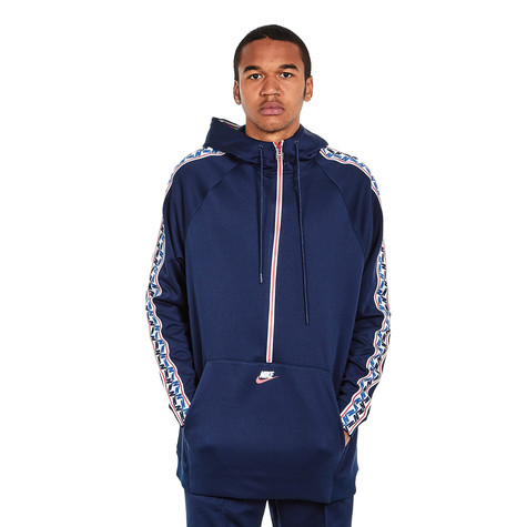 Nike - NSW Taped Half Zip Hood Poly
