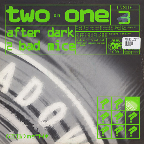 After Dark / 2 Bad Mice - Two On One Issue 3