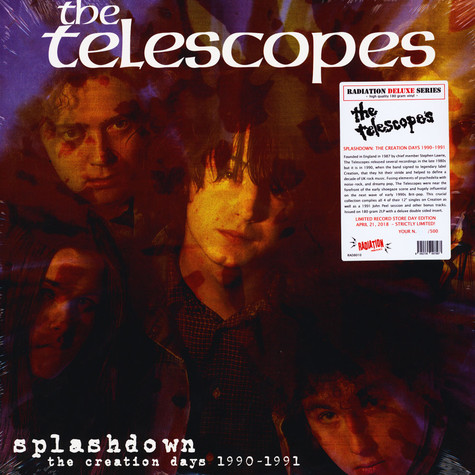 Telescopes - Splashdown: The Creation Days 1990-1991