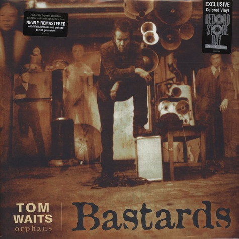Tom Waits - Bastards Grey Vinyl Edition
