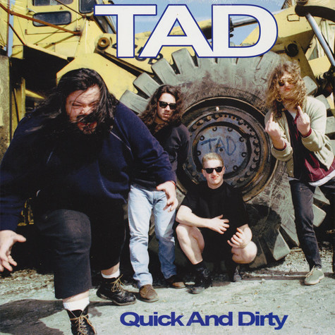 TAD - Quick And Dirty Opaque Green Vinyl Edition