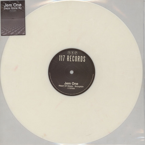 Jem One - Days Gone By Clear & White Mixed Vinyl Edition