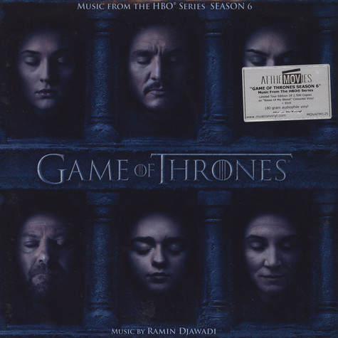 Ramin Djawadi - OST Game Of Thrones Season 6 Red Vinyl Edition