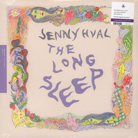 Jenny Hval - The Long Sleep EP Colored Vinyl Edition