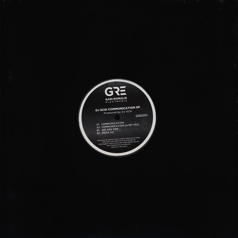 DJ SCSI - Communication EP