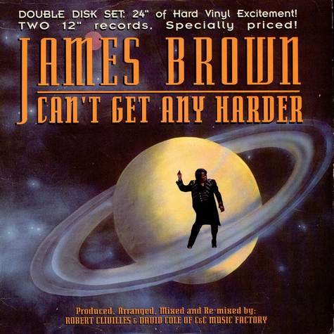 James Brown - Can't Get Any Harder