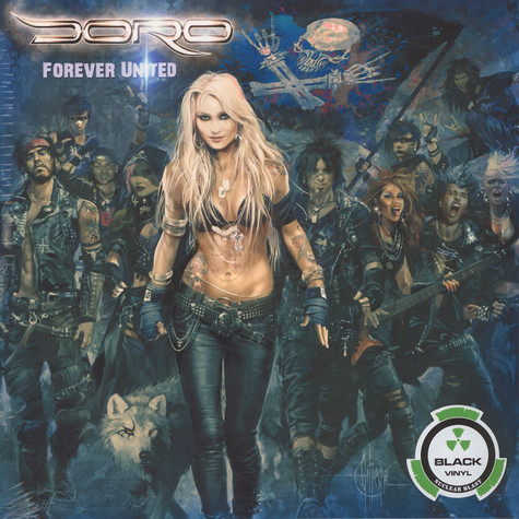 Doro - Forever United Black Vinyl Edition