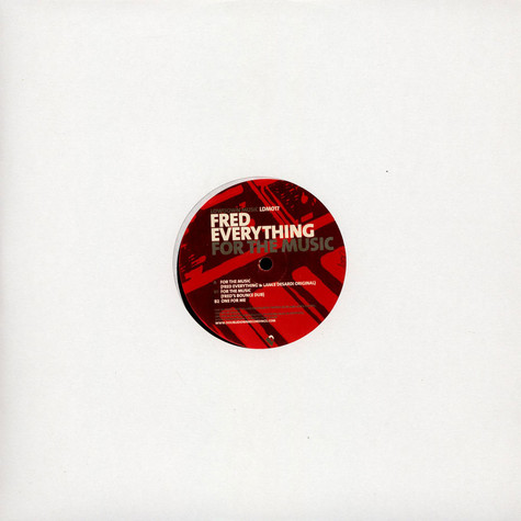 Fred Everything - For The Music