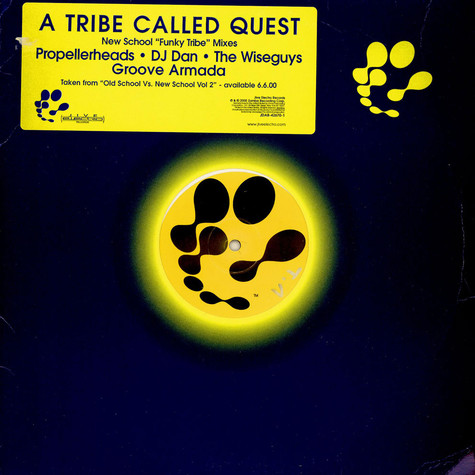 """A Tribe Called Quest - New School """"Funky Tribe"""" Mixes"""