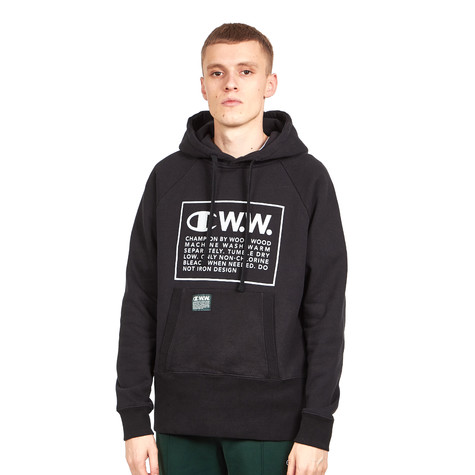 Champion x Wood Wood - Logo Hooded Sweatshirt