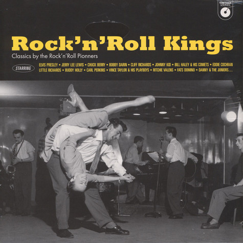 V.A. - Rock'n'Roll Kings - Vintage Sounds-Classics By TheRock'n'Roll Pionners