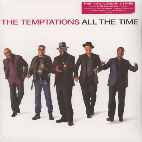 Temptations, The - All The Time