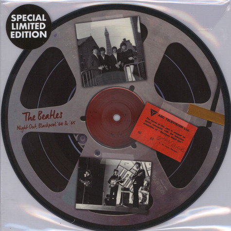Beatles, The - Live In Blackpool 64 & 65 Picture Disc Edition