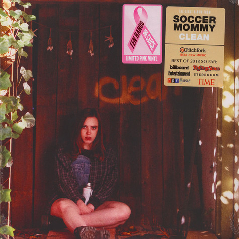 Soccer Mommy - Clean Ten Bands One Cause Pink Vinyl Edition