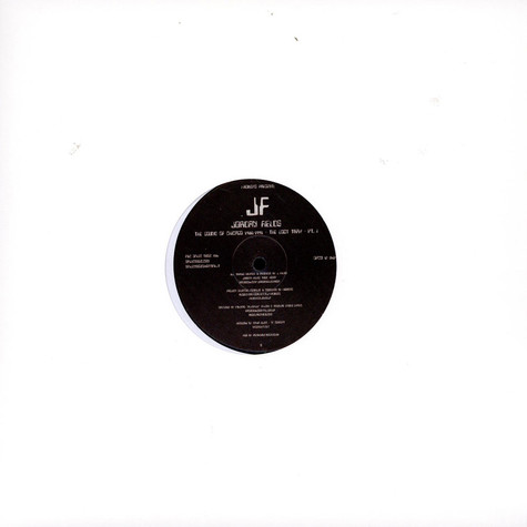 Jordan Fields - The Sound of Chicago1986-1991 The Lost Trax Part 1