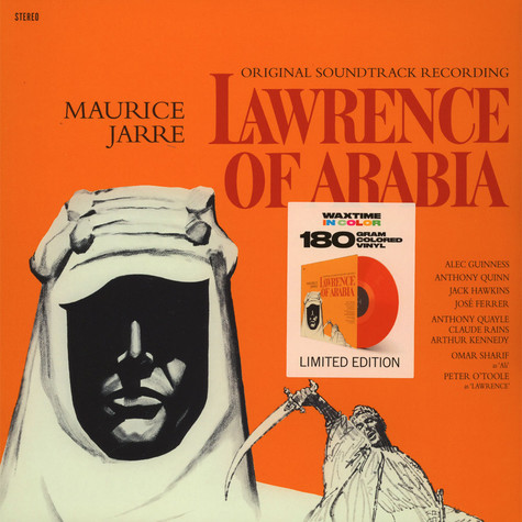 Maurice Jarre - Lawrence Of Arabia Colored Vinyl Edition