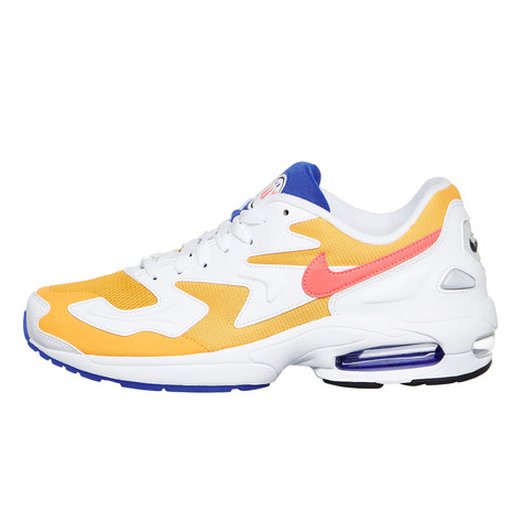 8205a5fe61 Nike - Air Max2 Light (University Gold / Flash Crimson / Racer Blue ...