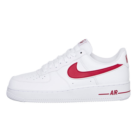 info for f4aad fb958 Nike. Air Force 1  07 3 (White   Gym Red)