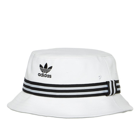 adidas - Bucket Hat AC (White   Black)  51a5fb8f289