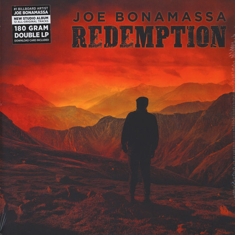 Joe Bonamassa - Redemption Black Vinyl Edition