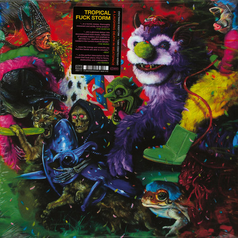 Tropical Fuck Storm - A Laughing Death In Meatspace